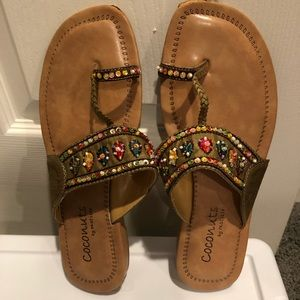 Coconuts by Matisse decorative sandals